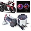 LED 13000 RPM Motorcycle Tachometer + Dual Speedometer Odometer Gauge Meter For Honda Yamaha Suzuki Bobber Choppers Kawasaki ATV