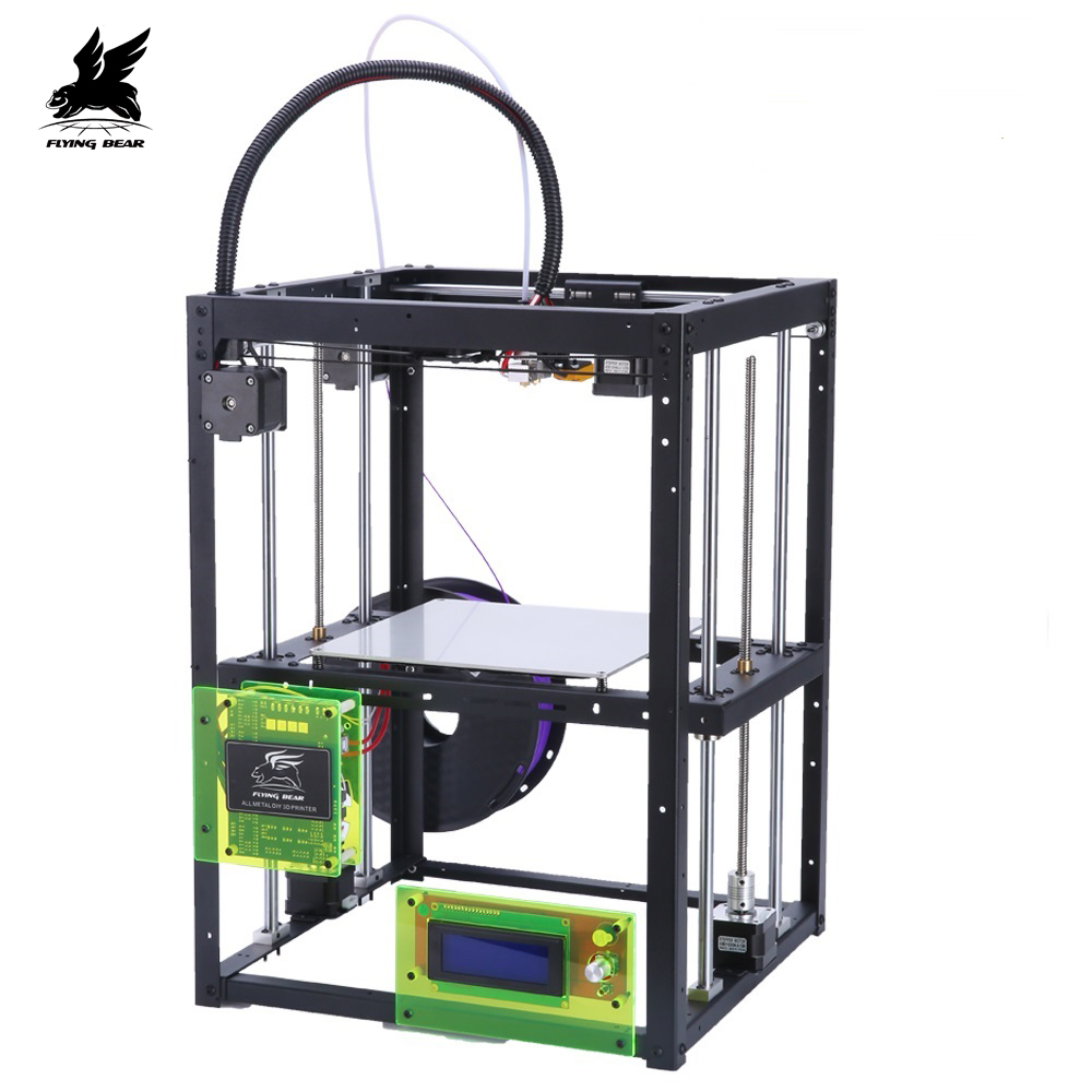 Ship From Germany Free Shipping P905H Dual Z Support Large building area 3d Printer kit 4G SD Card as gift mooz 2 dual z 3d printer support cnc