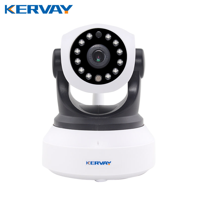 Kervay 720P HD Smart Wifi Wired IP Camera WI-FI Audio Record Security Baby Monitor with night vision Home Surveillance Camera