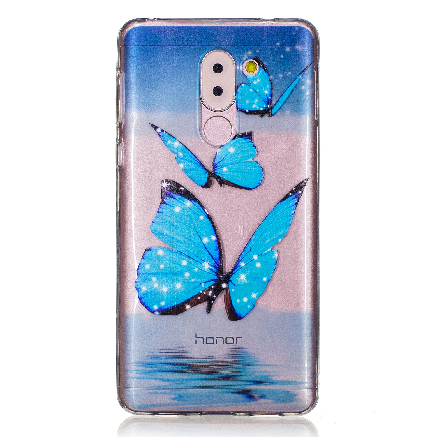 new products 63c04 46a92 Fashion Soft Beautiful TPU for Huawei Honor 6X Case Silicon Back Cover  Honor 6X Phone Case TPU Soft For Coque Huawei Honor6X 6 X-in Half-wrapped  Case ...