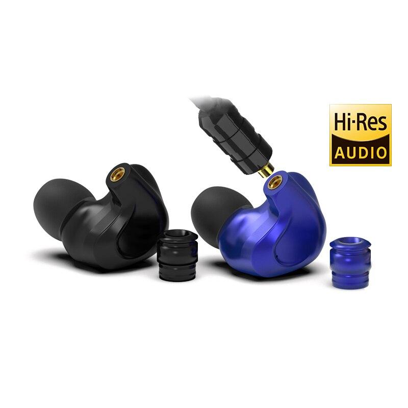 DMG BGVP 2DD + 4BA Híbrido No Ouvido Fone de Ouvido de ALTA FIDELIDADE DJ Monitorar Execução Esporte Fone De Ouvido Earplug fone de Ouvido Earbud Substituível MMCX cabo