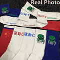 35-43 1lot=2pairs Gosha Rubchinskiy socks 1984 flag MEN MALE Russian ET alien boyfriend work daily week brand LOOKBOOK summer