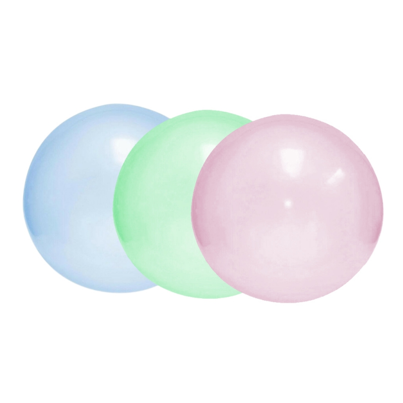 Bubble Balloon Inflatable Funny Toy Ball Amazing Tear-Resistant Super Gift Inflatable Balls Outdoor Tools Play Random Color