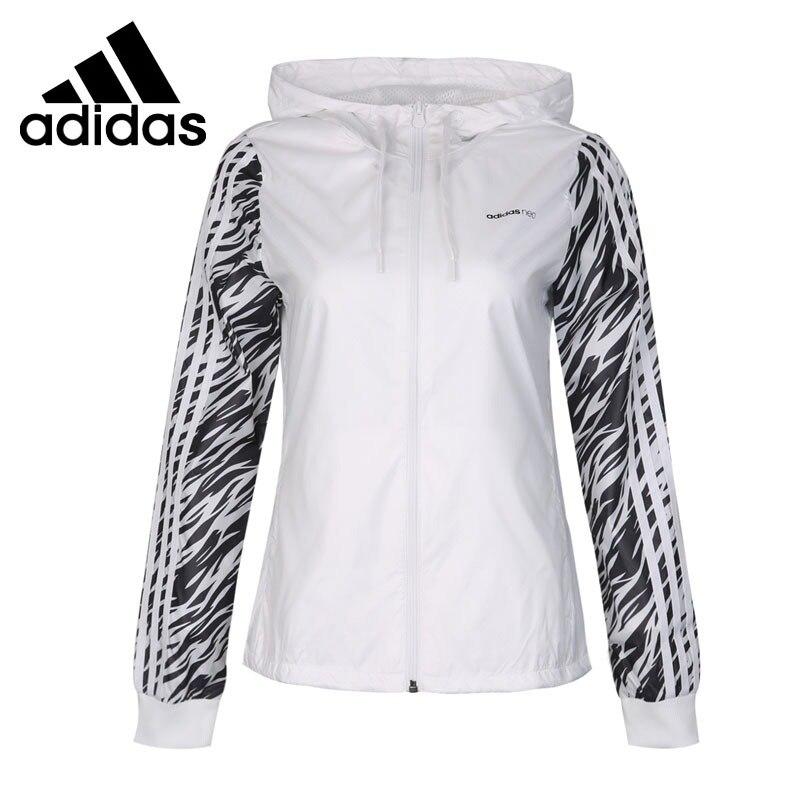 Original Nouvelle Arrivée 2018 Adidas NEO Étiquette WB ANML Femmes de veste À Capuchon de Sport