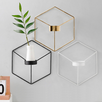Geometric Wall Candle Holder Bathroom Bedroom Candle Holders Departments Dining Room Entryway Living Room Outdoor Rooms