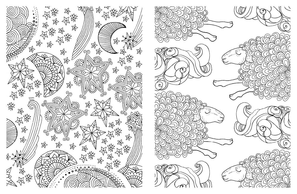 Posh Adult Coloring Book: Soothing Designs for Fun and Relaxation ...