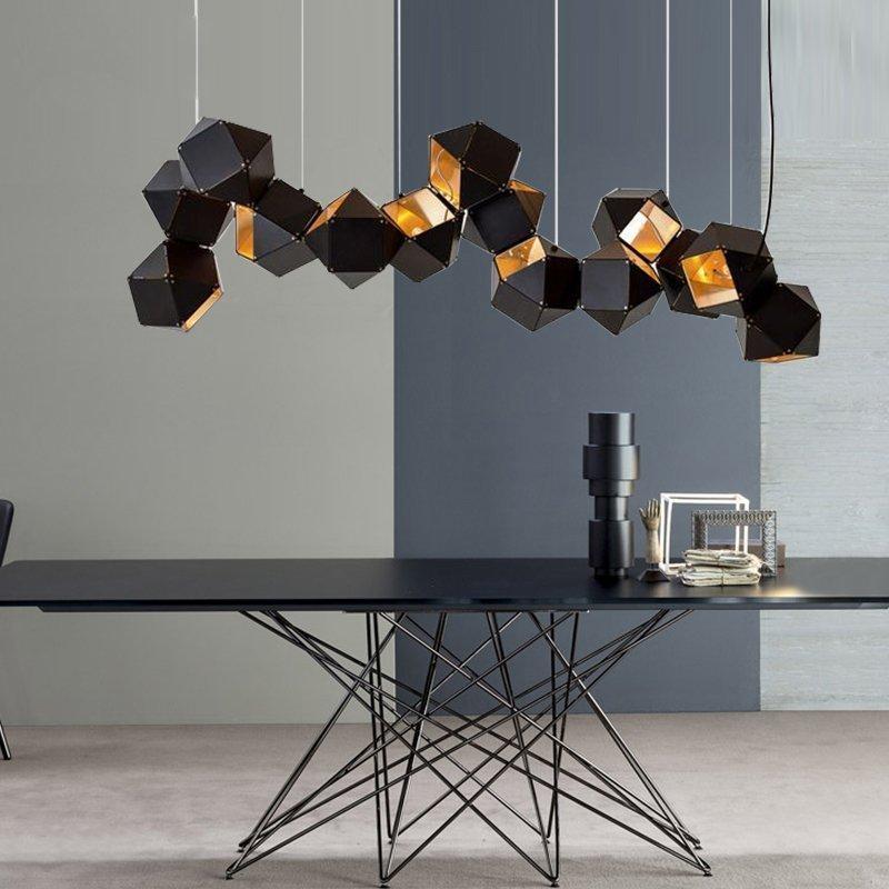 Modern Chandelier Welles Dna Design For Living Room