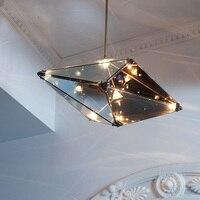 Скандинавский современный стильный ресторан отеля обеденный подвесной светильник творческая личность гостиной спальня подвесной светиль