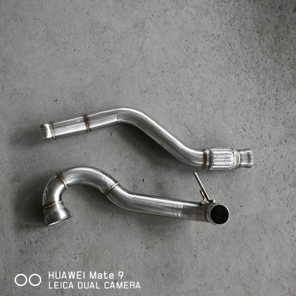 down pipe for  benz amg a45 cla45 2.0t down pipe for  benz amg a45 cla45 2.0t