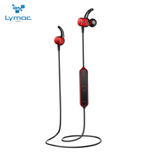 LYMOC Sport Bluetooth Earphone Metal Magnetic Switch Wireless Headset Running Noise Cancelling Phone Handsfree for iPhone Huawei