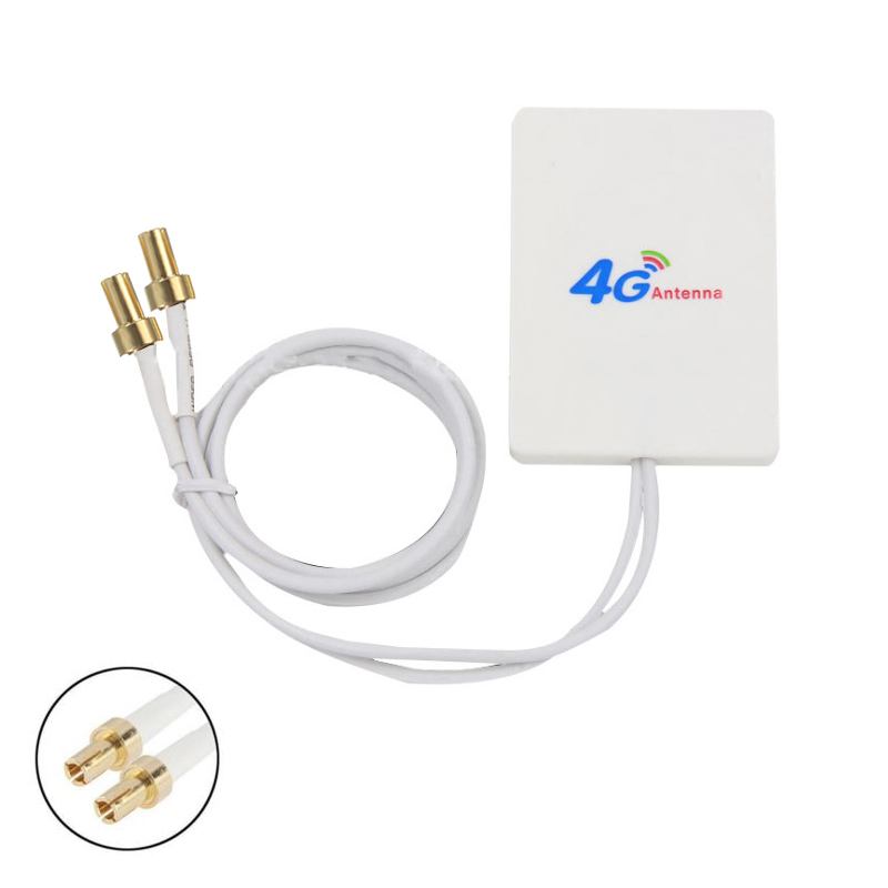 Wholesale 28dBi 4G 3G LTE 2*TS9 Antenna Signal Booster Amplifier Mobile Broadband Router Transmission Cables Wire Accessories