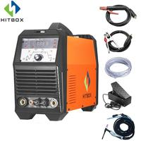 HITBOX TIG ARC Welder Aluminum Welding Machine ACDC TIG200P Functional Welding Equipment With Accessories
