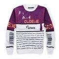 Actavis Codeine Hoodieed Sweatshirt  2016 new 3d hip hop Men crewneck sweatshirt pullover hoodies Harajuku codeine tracksuit