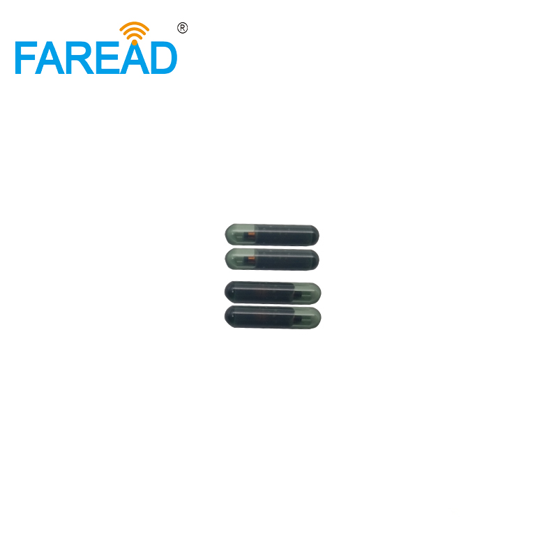 Free Shipping TI HDX 4*22mm/3.85*22.5mm RFID Glass Tag