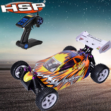 Original HSP 94107 RC Racing Car 1:10 Scale Models 4wd Electric Power Off Road Buggy Remote Control Car High Speed Drift Car