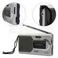 High Quality Universal Slim AM/FM Mini Radio World Receiver Stereo Speakers MP3 Music Player