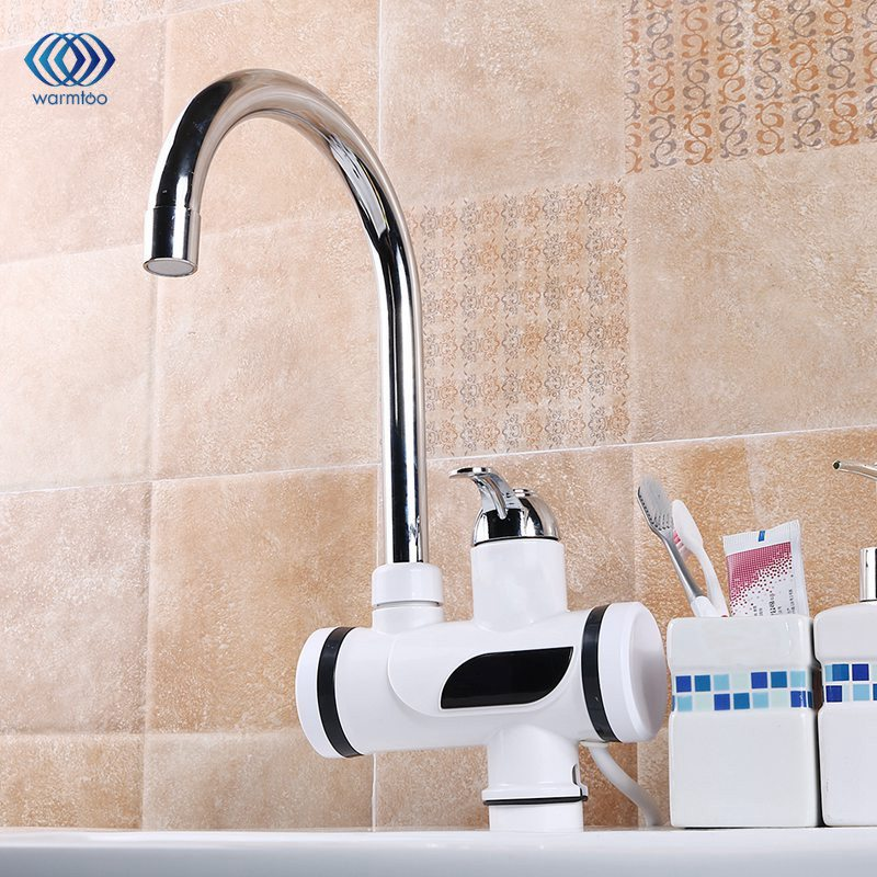 Household 220V 3000W Instant Heating Electric Water Heater Digital Temperature Display Tankless Faucet Kitchen/Bathroom Tap сабо ash ash as069amqvz59