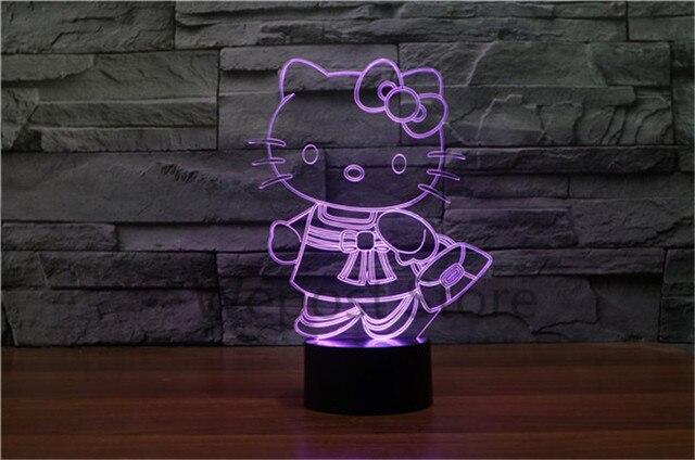 Leuke Slaapkamer Lamp : Kleuren veranderen leuke hello kitty baby licht d dier kitty