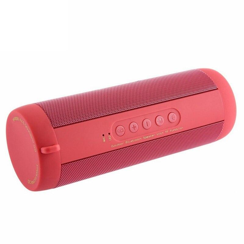 Original T2 Bluetooth Speaker Portable Outdoor Wireless Column Box Waterproof Speaker Support TF card FM Stereo Boxes