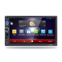 RK A702 Professional 7 Inch HD 1080P 1024 600 Capacitive Screen Function Car DVD Built In