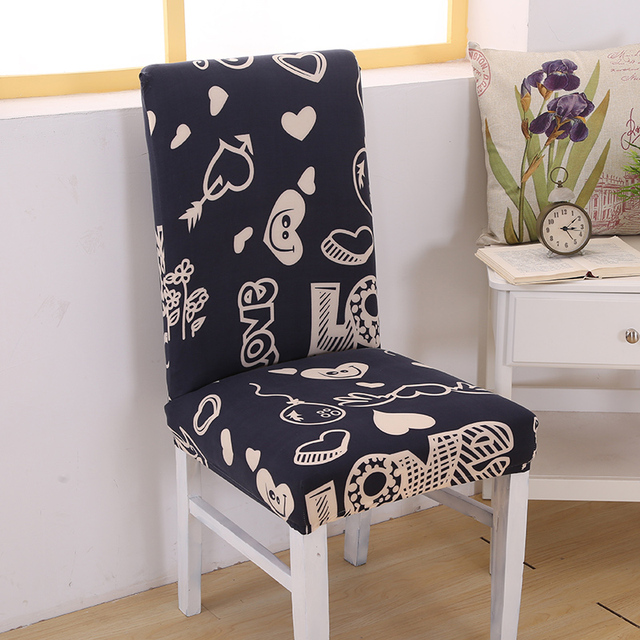2019 New Soft Stretch Chair Decor Dining Room Cover Banquet Stool Slipcover
