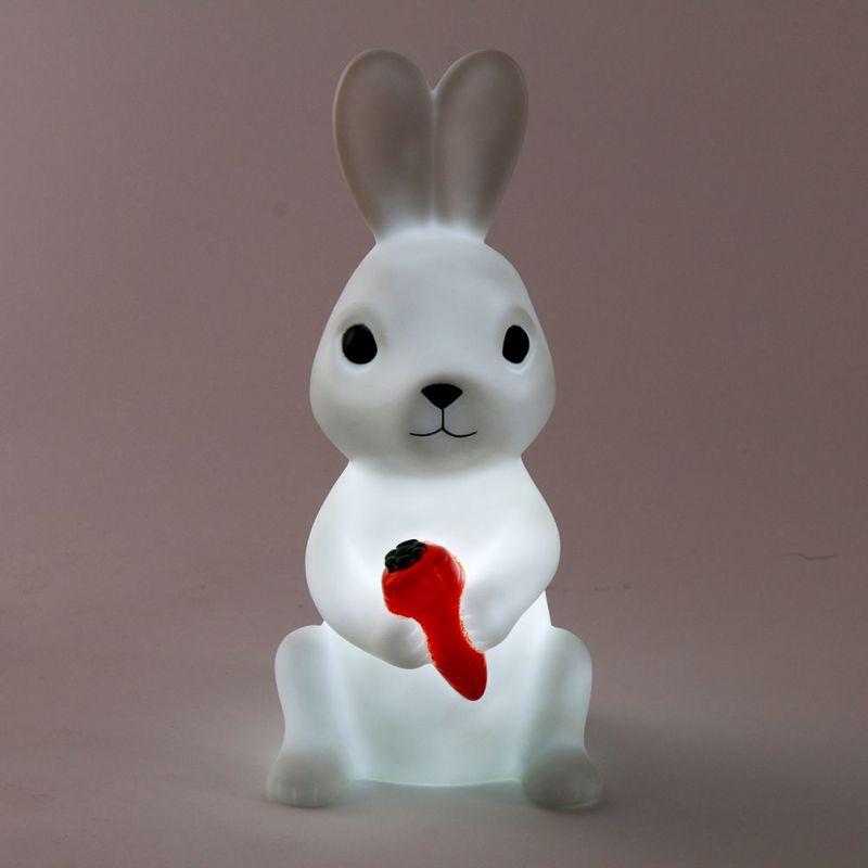 Night Light Led High Quality Rabbit Owl Lamp Silicone