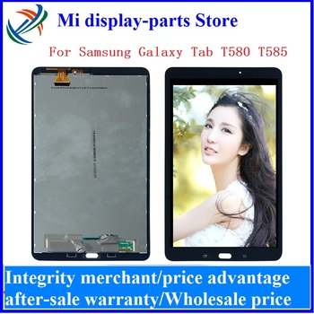 For Samsung Galaxy Tab A SM-T580 SM-T585 T580 T585 LCD display touch screen Panel digitizer assembly + tools