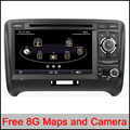 Capacitive Touch Screen 7 Inch In Dash Car DVD Player For Audi/TT 2006-2012 Canbus Radio GPS Navigation Bluetooth 1080P Ipod Map