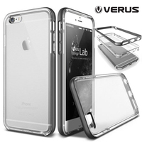 Original VERUS For IPhone 6 Case Crystal Slim Fit Clear Back Hybrid Rugged Shockproof Cover Cases
