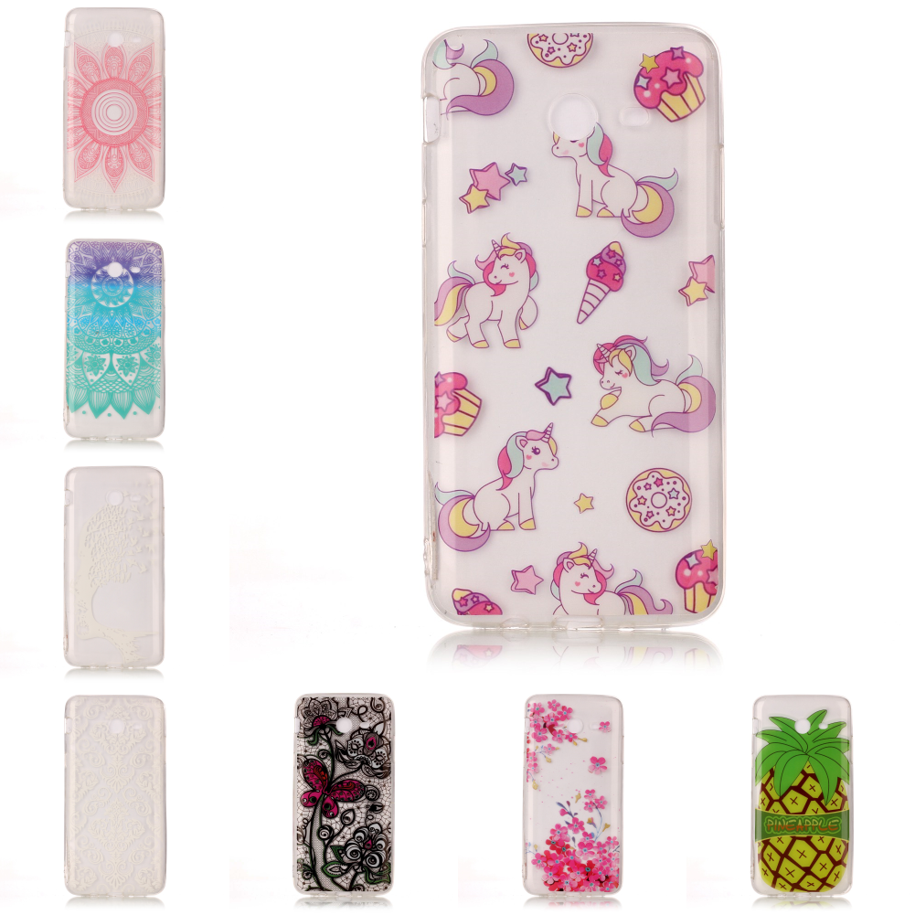 New Cheap Transparent Ultra TPU Silicone Thin Cover Etui Case Phone Mobile For Samsug Sumsung Galaxy J7 2017 J 730 Flower