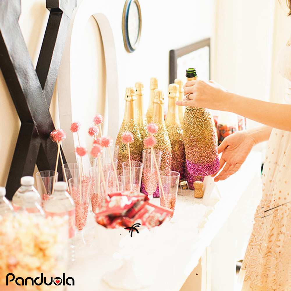 Confetti 18g Box Wedding Anniversary Diy Glitter Wine Glass