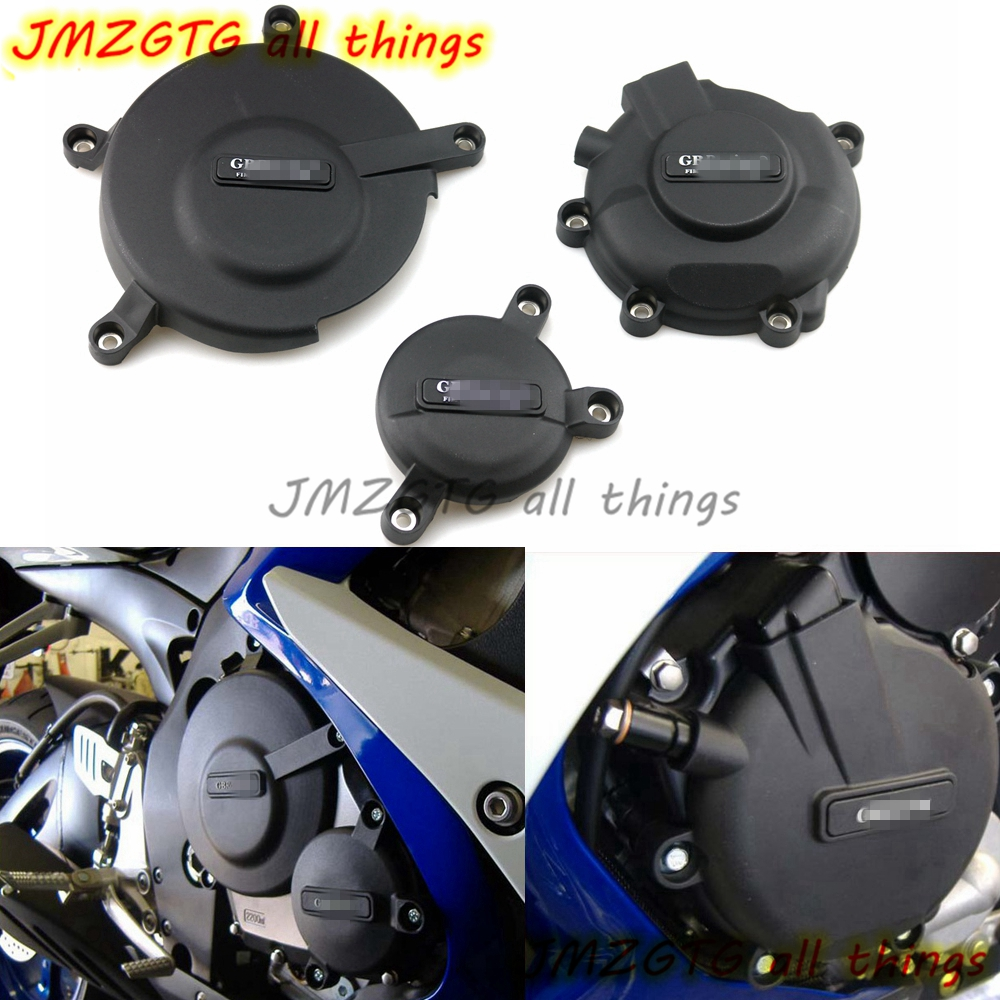 Motorcycles Engine cover Protection case for case GB Racing For SUZUKI GSXR600 GSXR750 2006 07 08