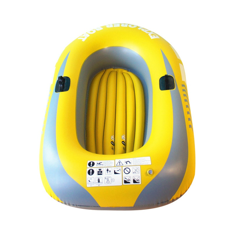 1/2 personne Kayak gonflable canoë 55/90 kg aviron Air bateau Double Valve dérivant plongée bateau gonflable bateau de pêche