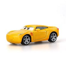 Disney Pixar Cars Yellow Lovely Toys For Kids Lightning Mcqueen High Quality Plastic Cartoon Models Christmas Gifts