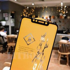 Image 3 - 6D Premium Gehärtetem Glas Für Xiaomi Pocophone F1 Redmi 6 Pro A1 A2 Schutz Glas Für Xiaomi Redmi Hinweis 6 screen Protector