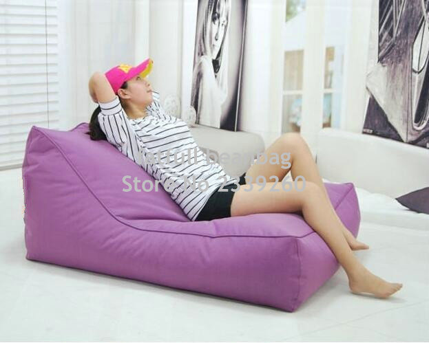 Merveilleux Cover Only No Filler  Hot Sale High Quality Swimming Pool Floating Bean Bag,  Purple 2 Seat Extra Large Beanbag Chair