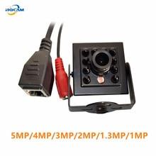 HQCAM 5MP 4MP 3MP 2MP 1.3MP 1M للرؤية الليلية كاميرا IP صغيرة الأشعة تحت الحمراء 940nm 10 قطعة المصابيح Onvif Cctv الأشعة تحت الحمراء كاميرا IP صغيرة كاميرا IP الأشعة تحت الحمراء