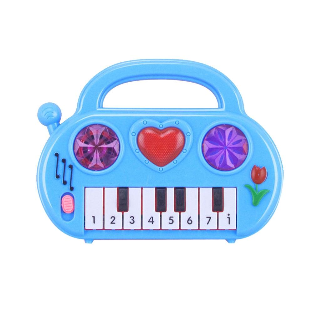 Baby Kids Electronic Guitar Educational Rhyme Developmental Music Sound Toy Gift