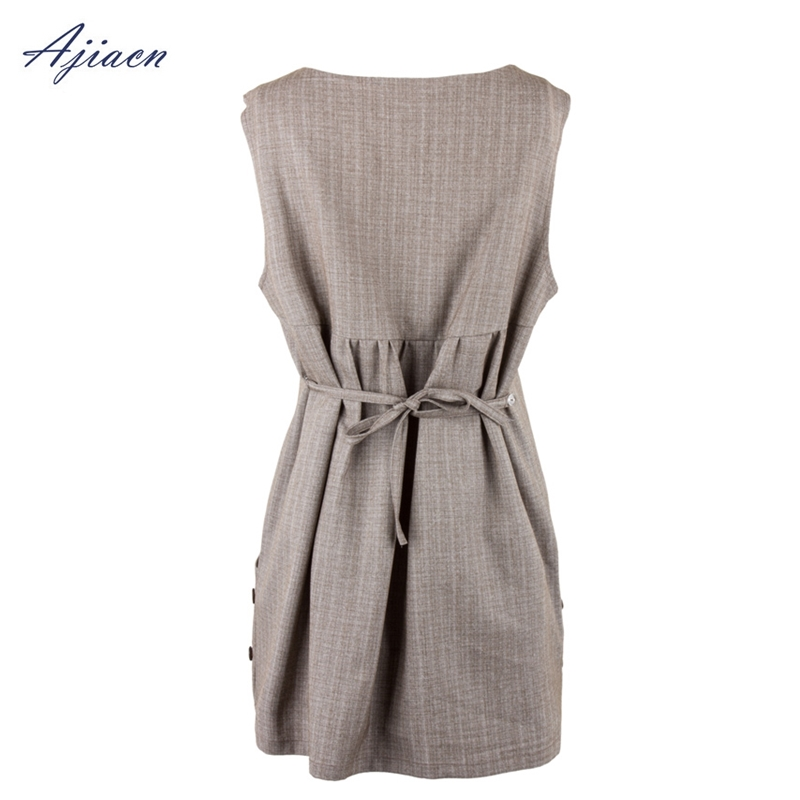 US $86 8 |Genuine electromagnetic radiation protection pregnant women dress  anti radiation Simple and elegant silver fiber clothing-in Safety Clothing