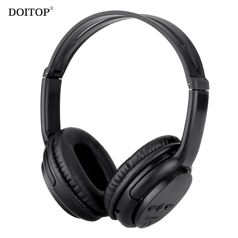 DOITOP Foldable Sports Running Bluetooth Headphone Headband Wireless Stereo Music Hifi Headset Earphones Support TF Card AUX A3 s450 foldable wireless stereo bluetooth v2 1 edr headband headphone w fm tf mic purple