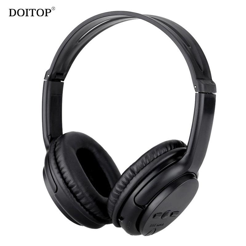 DOITOP Foldable Sports Running Bluetooth Headphone Headband Wireless Stereo Music Hifi Headset Earphones Support TF Card AUX A3