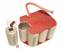 Ni Cd Sub C SC 12V 1200 1500 1800mAh Batterie für Power werkzeuge 10SN P03