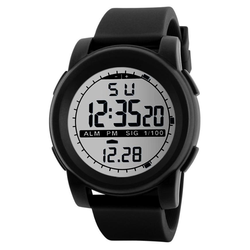 2018 Heißer Verkauf Honhx Digitaluhr Männer Neue Mode Digital Military Armee Sport Led Wasserdichte Armbanduhr Kol Saati Relogio Reloj Uhren