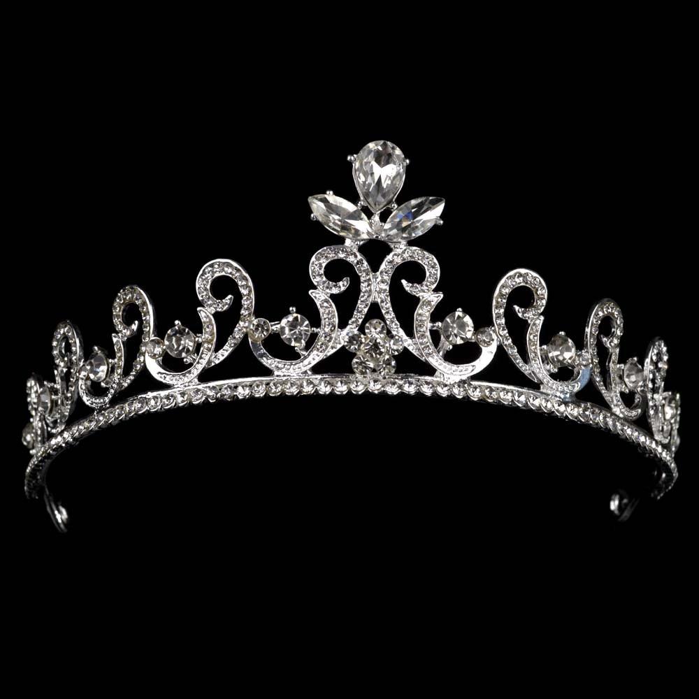 New Fashion font b Hair b font font b Jewelry b font Wedding Bridal Crown Accessories