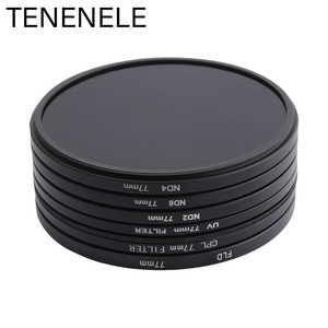 Image 2 - TENENELE 49 52 55 58 62 67 72 77 82 MM ND2/ND4/ND8/FLD/CPL/UV Protect Camera Filters Set For Sony Nikon Canon Pentax Lens Filter