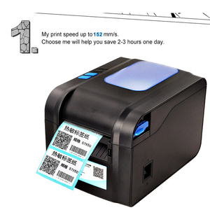 Image 4 - Xprinter Label Barcode Printer Thermal Receipt Label Printer Bar Code QR Code Sticker Machine 20mm 80mm Auto Stripping 370B
