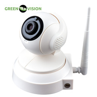 GREEN VISION Rotating Wifi IP Camera With Microphone And SD Card For Indoor Installation Matrix Smart