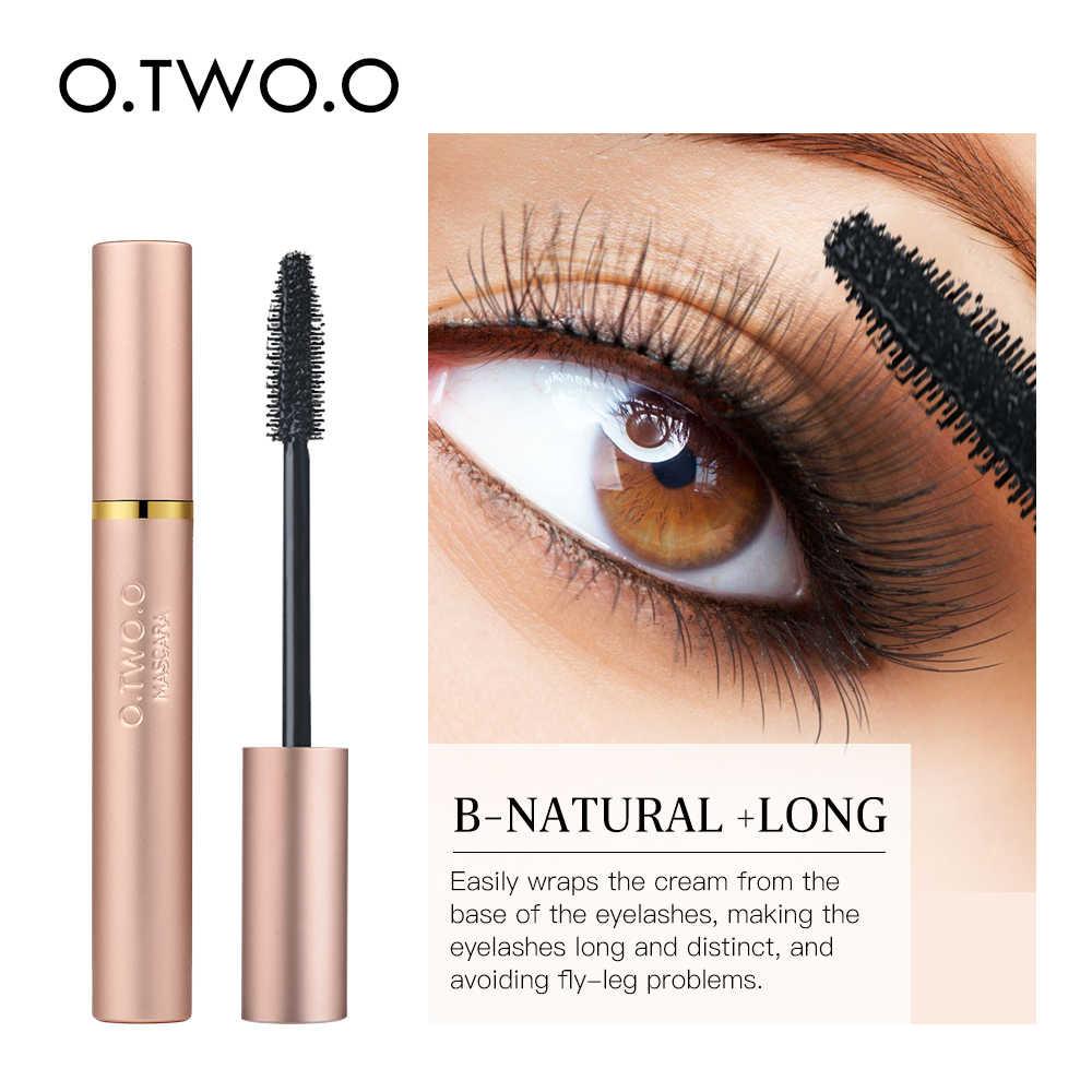 O.TWO.O 3D Serat Bulu Mata Tebal Mascara Hitam Panjang Bulu Mata Bulu Mata Ekstensi Bulu Mata Kuas Makeup Pro Mata Kosmetik