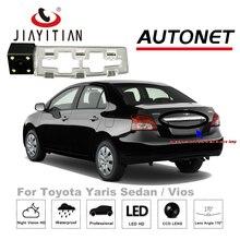JIAYITIAN Câmara de Visão Traseira Para Toyota Yaris Sedan Vios/2008 ~ 2012/CCD/Night Vision/Backup câmera/Câmera Reversa Reversa Buraco