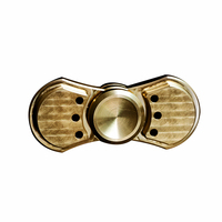 Copper Fidget Spinner Hand Spinner Finger Metal Rotate For 5 Minutes Tri Spinner Brass EDC Handspinner